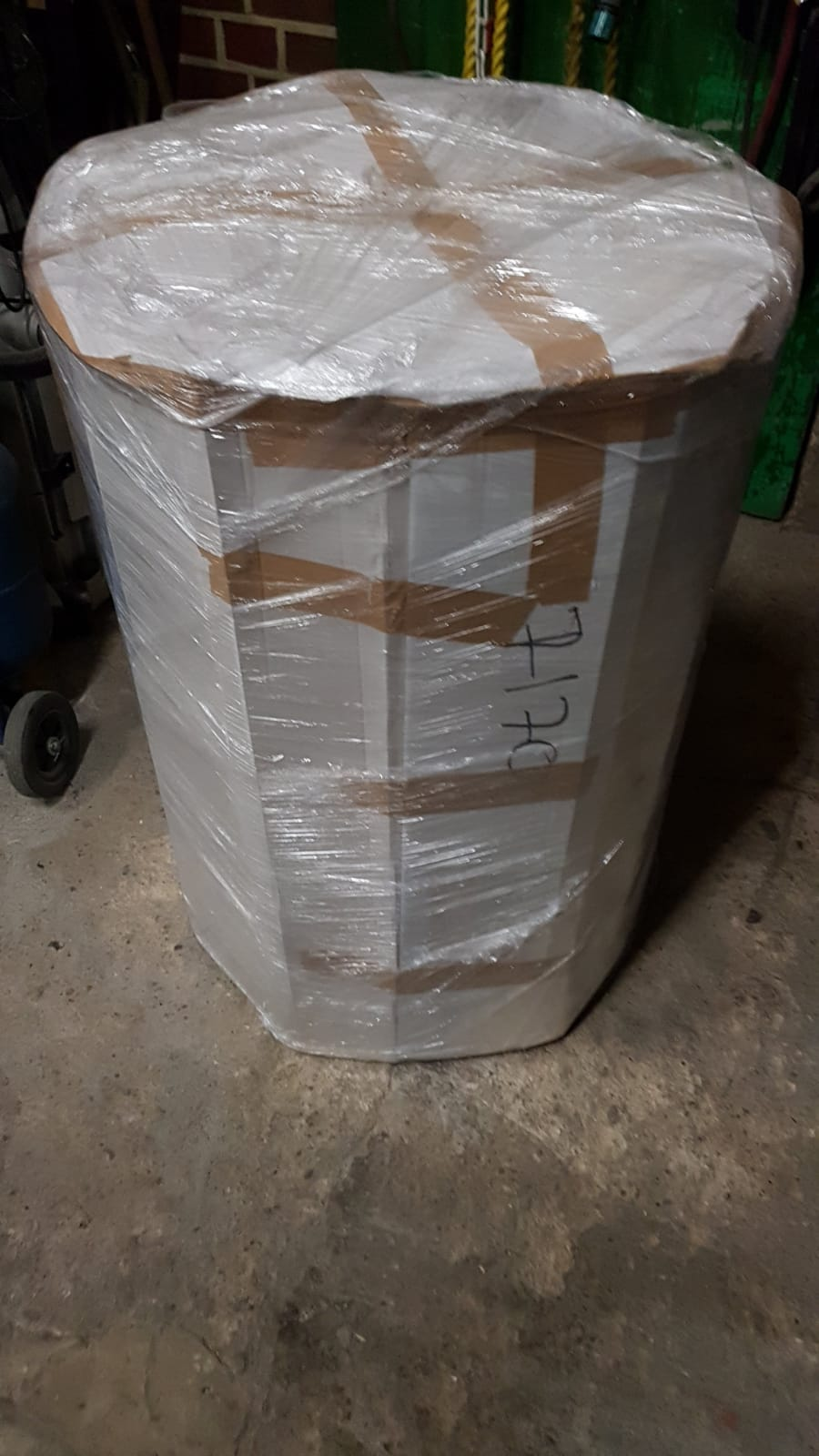0/° Z o.o MK sp Breite 120 mm f/ür /ø 160 mm Edelstahl gl/änzend Keine Farbe w/ählbar Edelstahl Deckenblende zweiteilig mit Hinterl/üftung